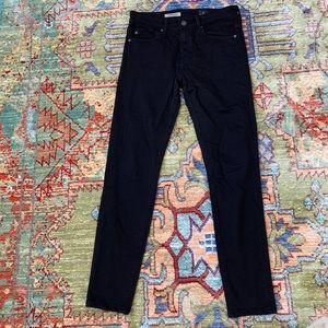 AG Farrah High Rise black skinny jeans
